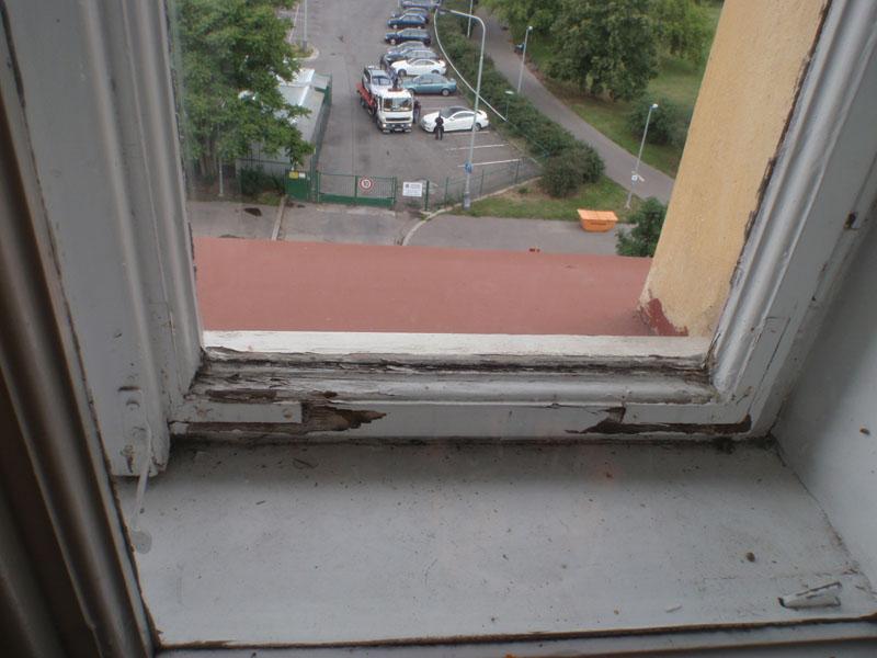 Opravy dřevěných oken